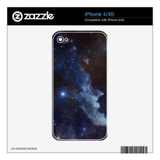 Witch Head Nebula Outer Space Skins iPhone 4S Decal