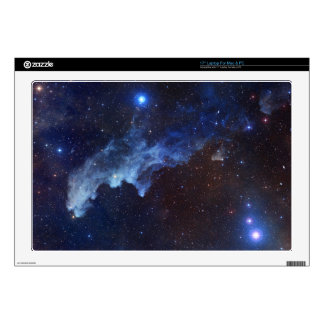 """Witch Head Nebula Space Blue Skin For 17"""" Laptop"""