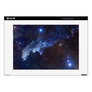 Witch Head Nebula Space Blue Laptop Skins