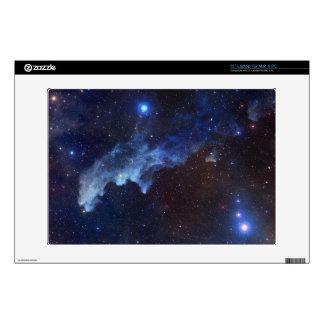 "Witch Head Nebula Space Blue 13"" Laptop Skin"
