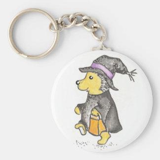 Witch Hedgie keychain