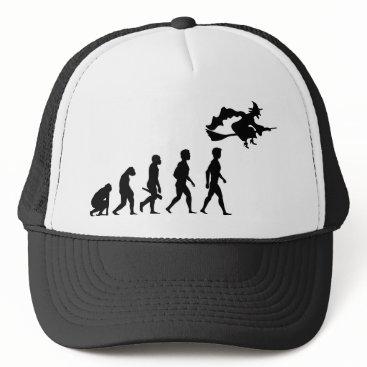 Halloween Themed Witch Hexerei charms magician broom Halloween Trucker Hat