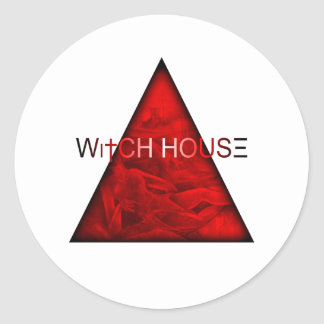 Witch House Classic Round Sticker