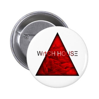 Witch House Pinback Button