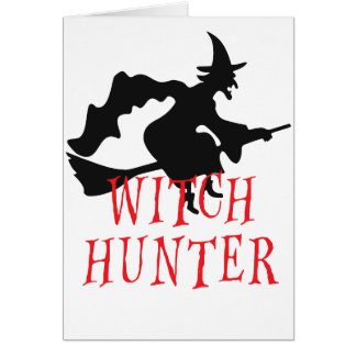 Witch Hunter Greeting Card