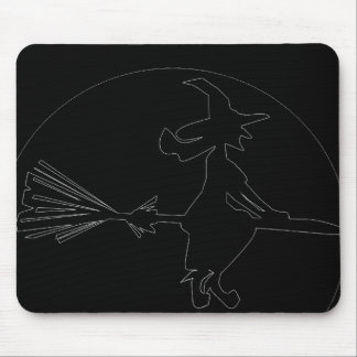 WITCH ICON MOUSE PAD