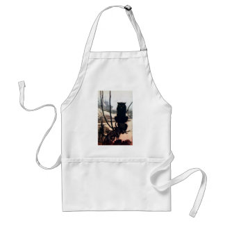 Witch in Cat Form Adult Apron