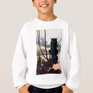 Witch in Cat Form Sweatshirt