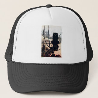 Witch in Cat Form Trucker Hat