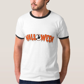 Witch In Halloween Greeting T-Shirt