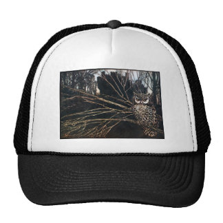 Witch in Owl Form Trucker Hat