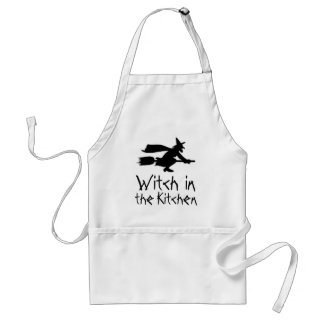 Witch in the Kitchen Apron Standard Apron