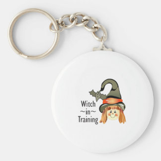 WITCH IN TRAINING KEY CHAIN