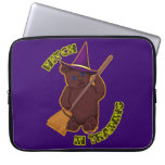 Witch In Training Laptop Sleeve
