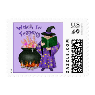 Witch in Training Postage