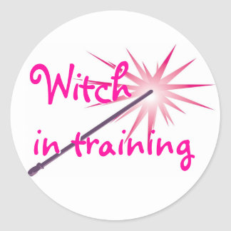 Witch In Training Sticker