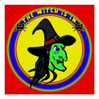 Witch Is In Poster