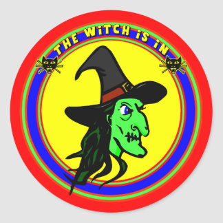 Witch Is In Sticker