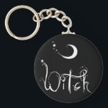 "Witch Keychain<br><div class=""desc"">Celebrate your Pagan Pride with this very cool Witch design!</div>"