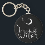"""Witch Keychain<br><div class=""""desc"""">Celebrate your Pagan Pride with this very cool Witch design!</div>"""
