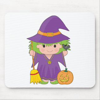 Witch Kid Mousepad
