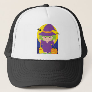 Witch Kid Trucker Hat