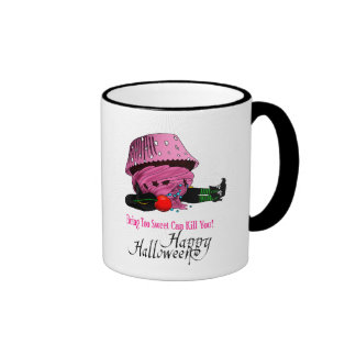 Witch killed by to cupcake coffee mugs