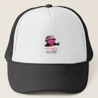 Witch killed by to cupcake trucker hat