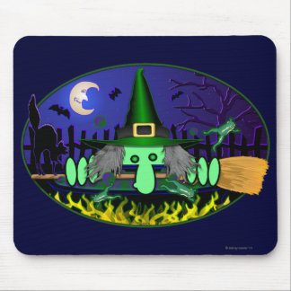 Witch Kilroy Mousepad