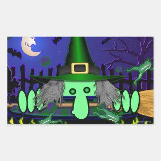 Witch Kilroy Sticker