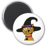Witch Kitty Magnets