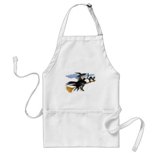Witch Liddie and Hackamor Adult Apron