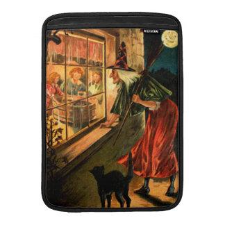 Witch Looking Through Window MacBook Air Sleeves