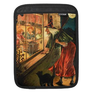 Witch Looking Through Window