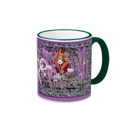 Witch Magic Gifts Ringer Coffee Mug