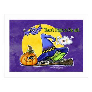 Witch magic - Halloween card Postcards
