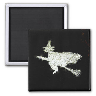 Witch 2 Inch Square Magnet