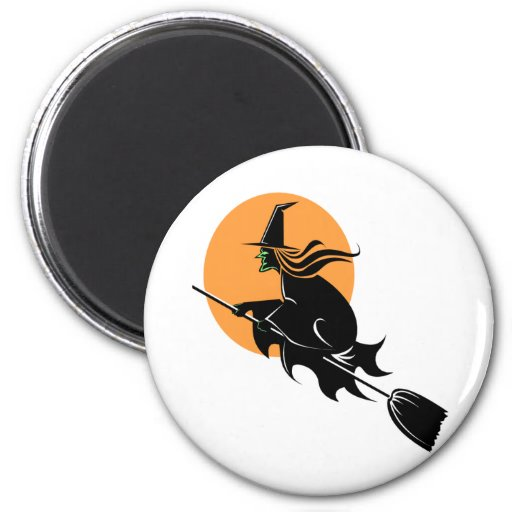 Witch Fridge Magnet