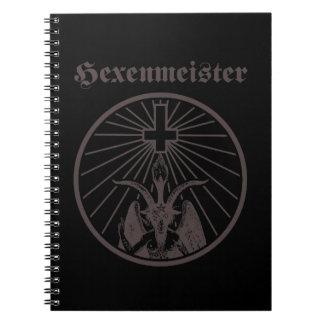 Witch master spiral notebook
