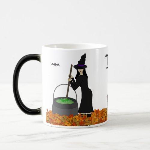Witch Morphing Mug mug