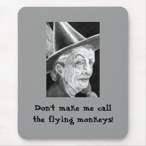 Witch Mousemat Mouse Pad