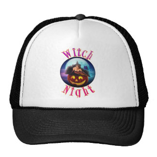 Witch Night Trucker Hat