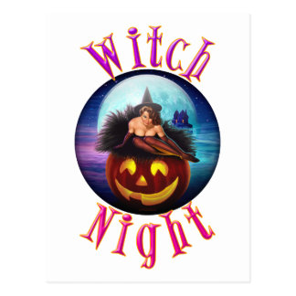 Witch Night Postcard