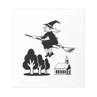 Witch Note Pad