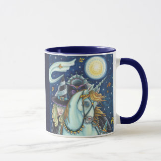Witch Of Sleepy Hollow RINGER MUG Halloween
