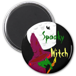 Witch of the night fridge magnet