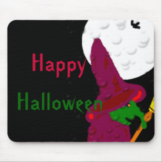 Witch of the night mouse pad