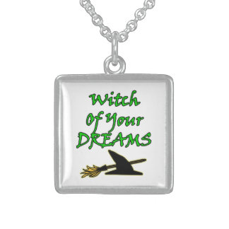 Witch Of Your Dreams Sterling Silver Necklace
