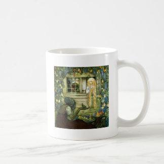 Witch Offers the Princess a Pear Mug