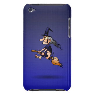 Witch on a broom Case-Mate iPod touch case
